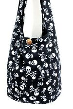 b BOHEMIAN MONK BOHO SHOULDER BAG SLING HIPPIE CROSSBODY SKULL THAI WOMEN UNISEX