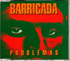 CD SINGLE promo BARRICADA problemas SPAIN rare 1994 METAL