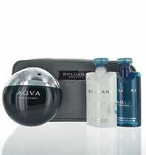 Aqva Pour Homme by Bvlgari set  4 piece Set