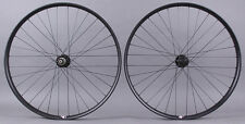 Velocity Dually 27.5 650b MTB Wheelset Novatec 4 in 1 Hubs Thru Axle and QR