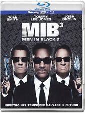 Blu Ray  MIB - MEN IN BLACK 3 *** Blu Ray 3D + 2D + Blu Ray ***  ......NUOVO