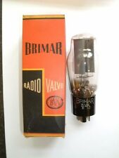 5U4G Rectifier valve/tube by BRIMAR. U52 equivalent. Tests GOOD! Used in Box.
