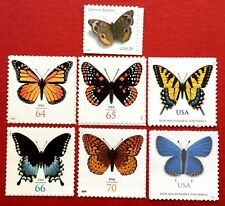 US Beautiful Butterfly Stamps SC #4001b #4462 #4603 #4736 #4859 #4999 #5136