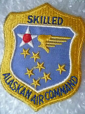 Patch- USAF Skilled Alaskan Air Command Patch (New*apx. 96x75 mm)