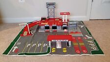 MATCHBOX CONVOY TRUCK STOP VINTAGE PLAY SET