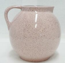 RED WING POTTERY SPECKLED PINK PITCHER NUMBER 207