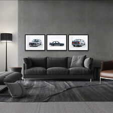 BMW M3 E30 3 SERIES COUPE CLASSIC EURO CAR 3 POSTER PACKAGE LARGE POSTER 18x24in
