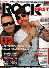"ROCK FIRST #4 ""U2,Deep Purple,REM,J.Brown,Black Keys,Bertignac,Deus"" (revue)"