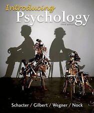 Introducing Psychology - Wegner Gilbert Schacter - third 3rd edition- Like New