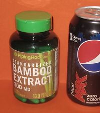 Bamboo Extract: 70% Organic Silica,***120*** Quick Release Capsules, 300 mg each
