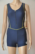NIKE DRI-F.I.T Damen Trainings-Suit Gr. S blau suit Triathlon Anzug Badeanzug