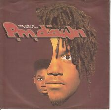 "PM Dawn - Reality Used To Be A Friend Of Mine/Comatose, 7"" Single!"