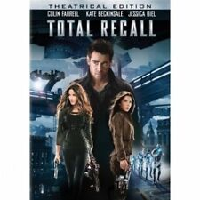 Total Recall (DVD, 2012) Colin Farrell, Kate Beckinsale (NEW AND SEALED)