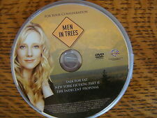 MEN IN TREES RARE 2007 EMMY PROMOTIONAL  DVD, 3 COMPLETE EPISODES ANNE HECHE