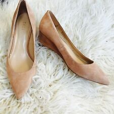 Talbots Suede/Leather Wedge Woman's size 6