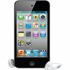 iPod Touch 4th Generation 16GB Black MP3 PLAYER 90 Days Warranty-New Sealed