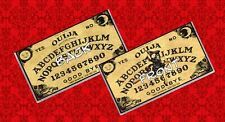 OUIJA BOARD GAME PIN UP WITCH PSYCHIC PARANORMAL VINTAGE VINYL CHECKBOOK COVER