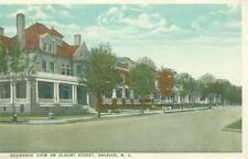 Raleigh, NC  A 1920 Residence View on Blount Street