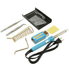 7 in 1 40W 220-240V Electric Soldering Iron Welding Stand Tool Kit Professional