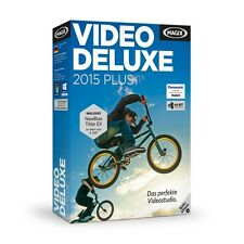 MAGIX Video deluxe 2015 Plus - NEU & OVP