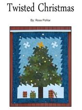 TWISTED CHRISTMAS  - Rose Pohlar  Quilting Sewing  Pattern Americana/Christmas