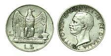 pcc1641_5) Italia regno Vittorio Emanuele III lire 5 aquilino 1929