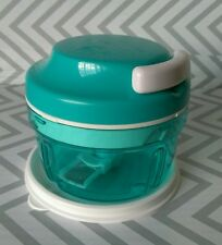 Tupperware Turbo Chop N Prep Mini Chef Chopper Aqua Time Saver 300 ml New!!!