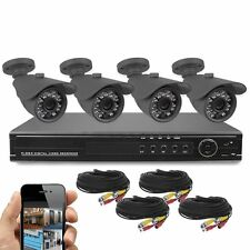 Best Vision 8CH DVR+ 720P Outdoor HD Cameras Home Security Camera System NO HDD