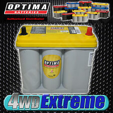 OPTIMA YELLOW  D51R-T1 SMALL TERMINAL AGM BATTERY, SKYLINE, WRX, STI, DEEP CYCLE
