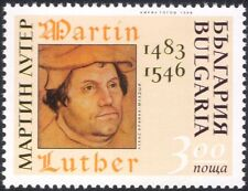 Bulgaria 1996 Martin Luther/Religion/People/History  1v (n37801)