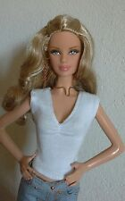 Barbie basics bellissima in jeans bijoux hand-made
