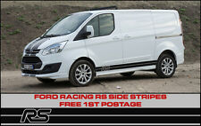 FORD transit custom RS bandes latérales sport Racing Style Focus Connect
