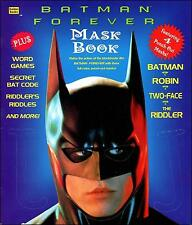Batman Forever (1995) - Children's Punch-Out Mask Book! New!