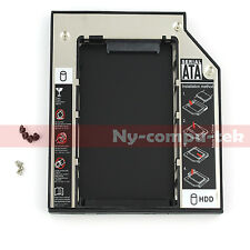 2nd HDD IDE to SATA Hard Drive Caddy for HP 8710w NX9420 NW9449 AD-7561A DVD ODD