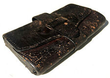 Antique 19th Century c1870 EMIL WEISSBROD EXCELSIOR Leather Wallet GREENFIELD MA