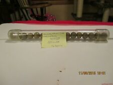 """Marbles-Tube of 16-Clay Marbles#43-.505""""-.558""""=12.83mm+/-"""