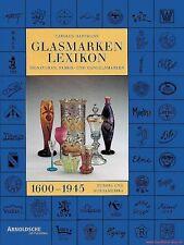 Fachbuch Glasmarken-Lexikon 1600-1945, unverzichtbares STANDARDWERK, OVP, NEU