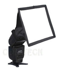 15 x 17cm Portable Flash Diffuser Mini Flash Softbox Kit For DSLR Speedlite