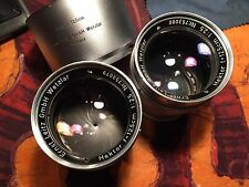 LEITZ LEICA 2 PRE-SERIE HEKTOR 2.5/12.5cm, correlative  NUMBER, VERY RARE feet