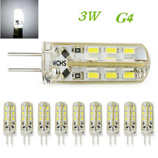 10 X 3W G4 Cool White SMD LED Bulbs Light Spot Light Corn Lamps 12V 110V 240V