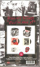 "ROLLING STONES ""Exile On Main St"" 2 7"" Vinyl Singles Case Box Set Numbered sld"