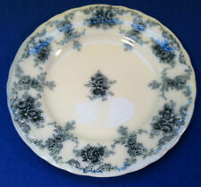Small Flow Blue Desert Plate Semi-Porcelain