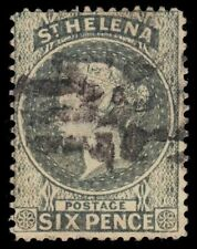 "ST. HELENA 7 (SG44) - Queen Victoria ""1887 Printing"" (pf93953)"