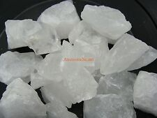 CLEAR / FROSTED QUARTZ Rough Rocks Crystals, 5 Lb Lots, Tumbling - FREE SHIPPING