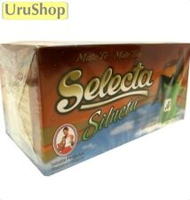 Y149 SELECTA YERBA MATE COCIDO SILUETA/SLIMMING BLEND TEA BAGS x 25 BOLDO/ORANGE