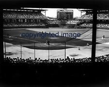 Comiskey Park White Sox Yankees 1950's with Chesterfield Scoreboard B+W 8x10 NN