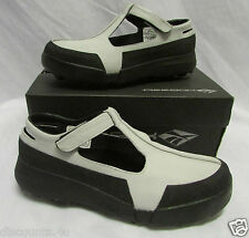 REEBOK CLASSIC SLING BACK SANDALS TRAINER DOLLY SHOE WEDGE FOOT BED MULE SIZE 6