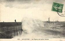 CPA  Le Havre -Le Digue,par gros temps    (201286)