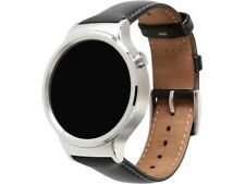 Huawei 55020533-RF Smart Watch Stainless Steel with Black Suture Leather Strap M