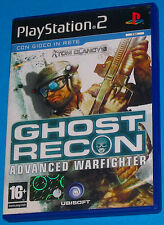 Ghost Recon Advanced Warfighter - Sony Playstation 2 PS2 - PAL
